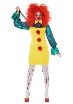 Classic Horror Clown Costume Women's