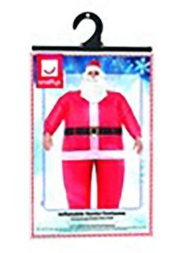 Santa Inflatable Costume alt 1