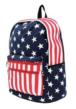 American Flag Mini Backpack Alt 1
