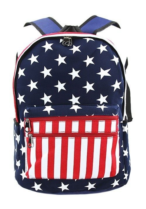 American Flag Mini Backpack Alt 2
