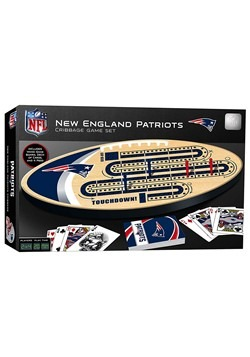 NFL New England Patriots Cribbage Board Set