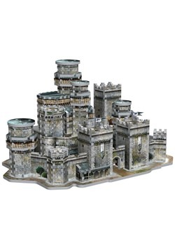 Game of Thrones Winterfell 3D Puzzle4