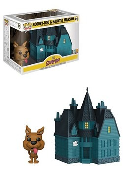 Pop Town Scooby Doo Haunted Mansion upd