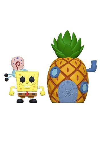 Pop! Town: Spongebob w/ Pinneapple