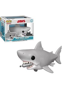 "Pop! Movies: JAWS- 6"" Jaws w/ Diving Tank"