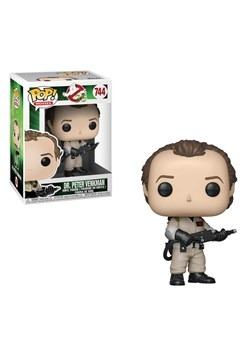 Ghostbusters Dr Peter Venkman Pop Movies