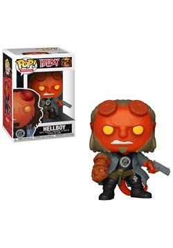 Pop! Movies: Hellboy- Hellboy w/ BPRD Tee