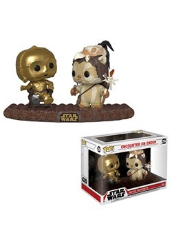 Pop! Star Wars Moment: C-3P0 on Ewok Throne