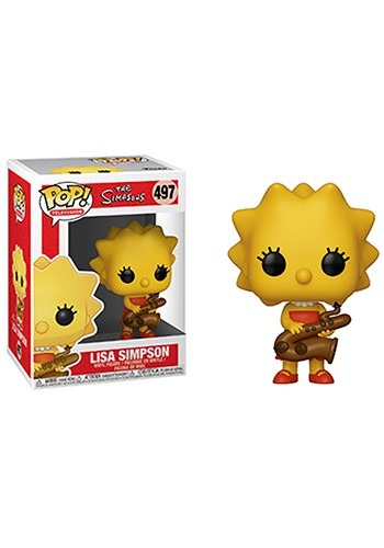 Pop! Animation: Simpsons- Lisa