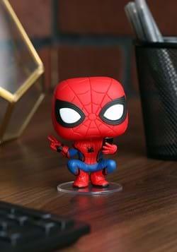 Pop! Marvel:Spider-Man: Far From Home- Spider-Man-1