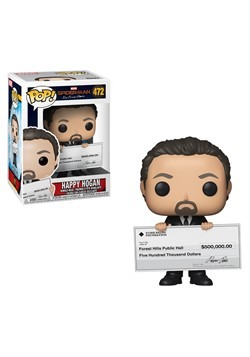 Pop! Marvel:Spider-Man: Far From Home- Happy Hogan