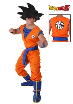 Goku Dragon Ball Z Plus Size Costume