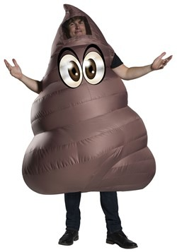 Inflatable Poop Adult's Costume