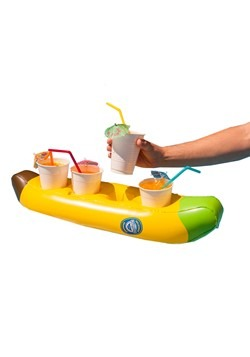 Banana Floating Beverage Boat Alt 1