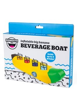 Banana Floating Beverage Boat Alt 4