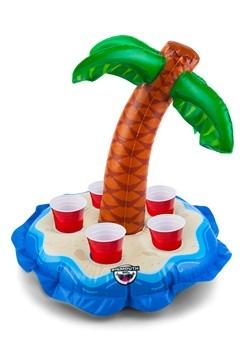 Floating Beverage Boat Palm Tree