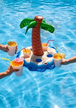 Palm Tree Floating Beverage Boat Alt 1