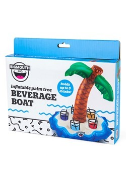 Palm Tree Floating Beverage Boat Alt 2