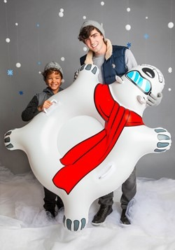 Giant Polar Bear Snow Tube Alt 3