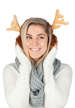 Reindeer Ear Muffs Alt 1