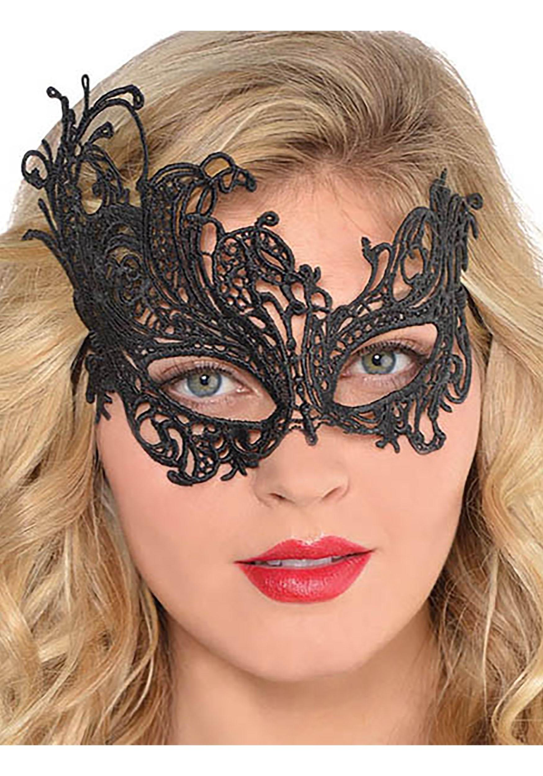 Lace_Black_Mask