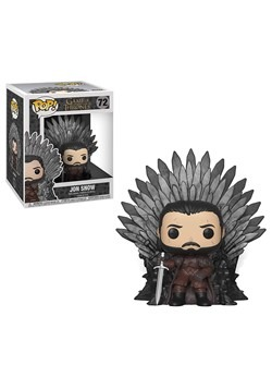 Pop! Deluxe: Game of Thrones Jon Snow on the Iron Throne
