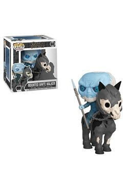 Pop! Rides: Game of Thrones- White Walker on Horse