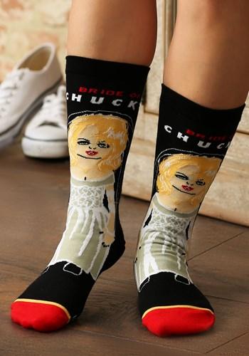 Bride of Chucky Women's Comfort Knit Cool Socks