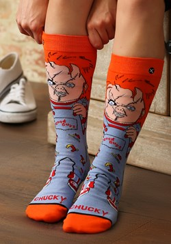 Chucky Good Guy 360 Premium Knit Odd Sox
