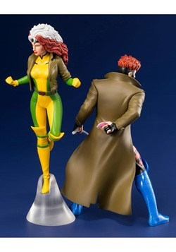 X-Men '92 Gambit and Rogue Two Pack ArtFX+ Statue Alt 1
