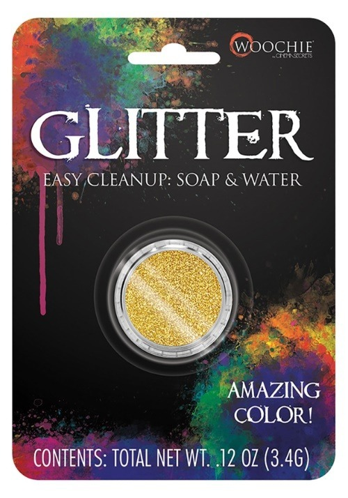 Gold Glitter Makeup
