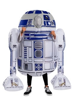 Kid's Star Wars Inflatable R2D2 Costume