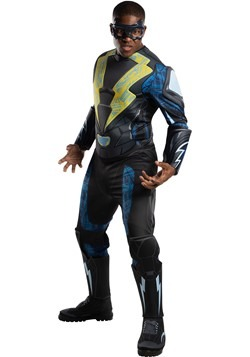 Black Lightning Deluxe Costume for Adults