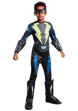 Black Lightning Kid's Deluxe Costume