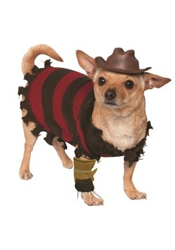 Freddy Krueger Pet Dog Costume