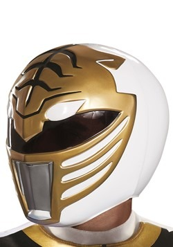 Power Rangers Adult White Ranger Helmet