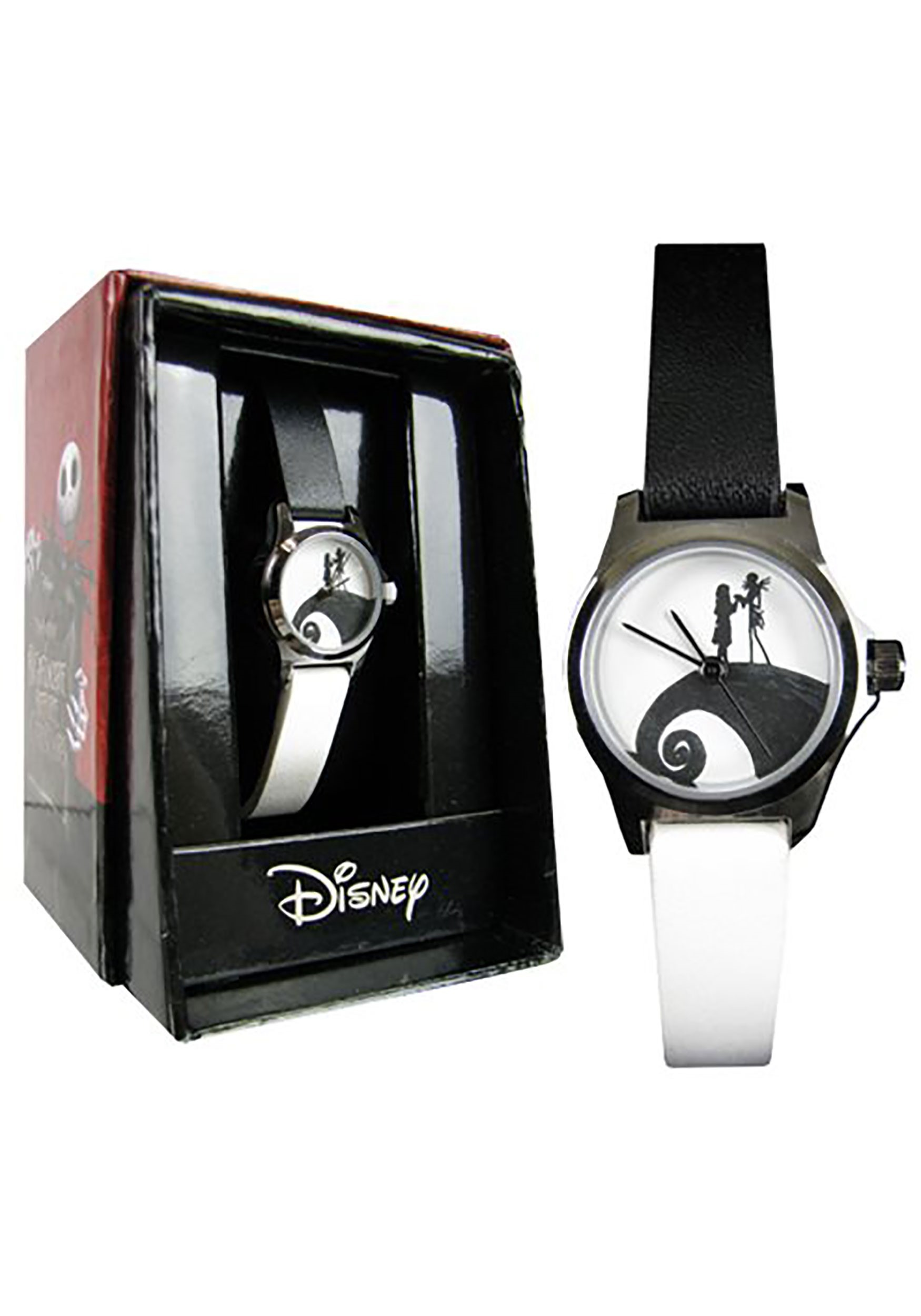Nightmare Before Christmas Images Black And White.Nightmare Before Christmas Watch Black White Strap