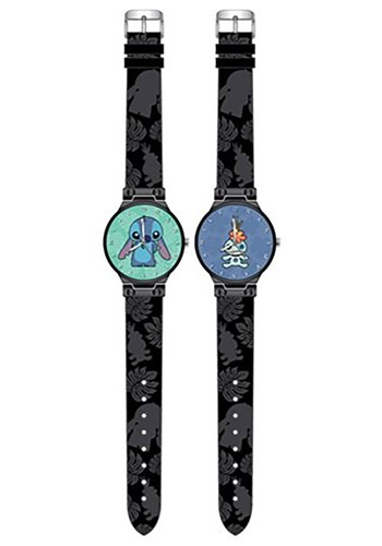 Lilo and Stitch Scrump and Stitch Watch 2-Pack Set