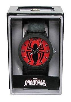 Spider-Man Emblem Strap Watch