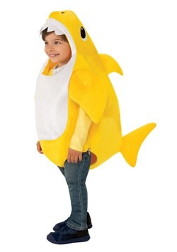 Baby Shark Toddler Costume with Sound Chip2