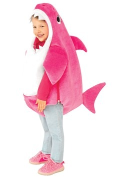 Toddler's Mommy Shark Costume with Sound Chip