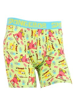 Mens Spongebob Jellyfishing Nets Boxer Briefs