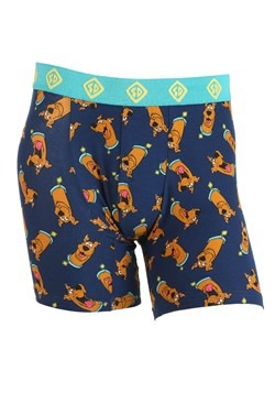Mens Scooby Doo Heads Print Boxer Briefs
