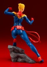 Marvel Comics Captain Marvel ArtFX+ Statue Alt 2