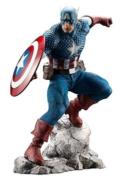 Marvel Captain America ArtFX Premier Statue