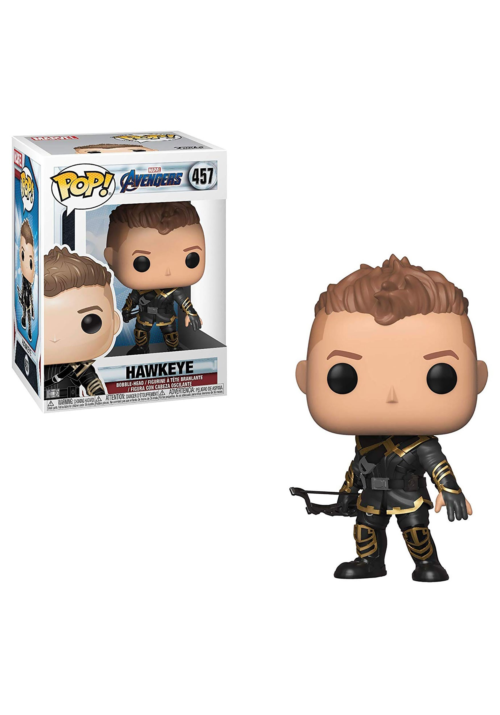 3968c5771 POP! Marvel: Avengers: Endgame- Hawkeye Bobblehead Figure
