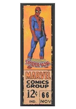 """Marvel Spider-Man 8"""" x 27"""" Framed Print Wall Art"""