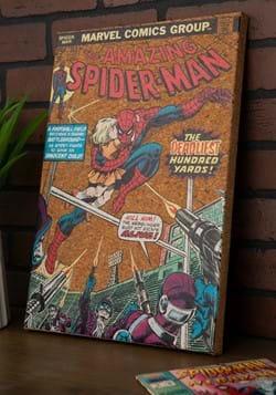 """Marvel Spider-Man 12""""x17.5"""" Corkboard Wall Art w/thumbtacks"""