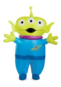 Toy Story Adult Alien Inflatable Costume