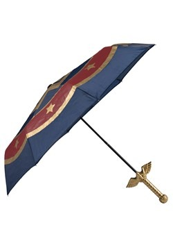 Wonder Woman Sword Molded Handle Umbrella Alt 1